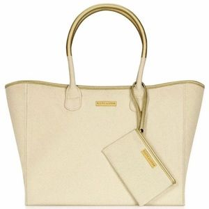 Ralph Lauren Tote Bag Canvas Purse Beach Bag Polo